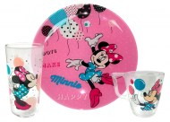 Набор детский LUMINARC DISNEY PARTY MINNIE, 3 предмета