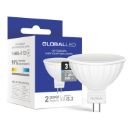 Лампа GLOBAL LED 3w MR16